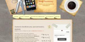 """""""Staram się przedstawić teorię finansową w postaci prostej matematyki"""" Parę pytań do blogfinance24.pl"""