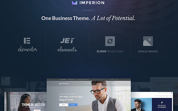 Imperion motyw wordpress