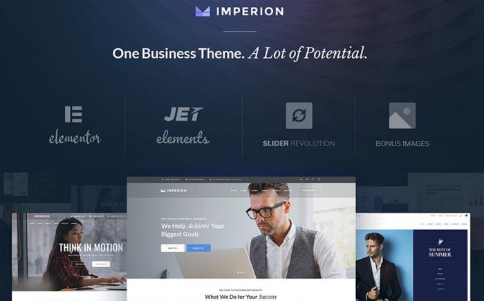 Imperion - uniwersalny biznesowy motyw WordPress