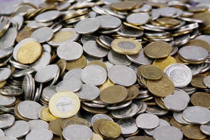 złotówki i monety