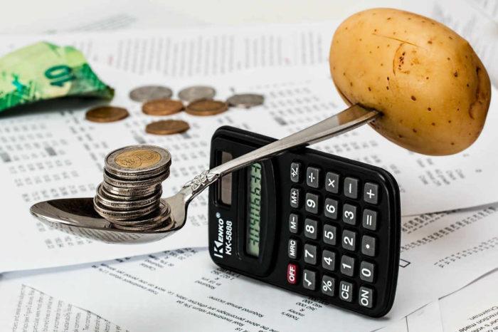 monety ziemniak kalkulator