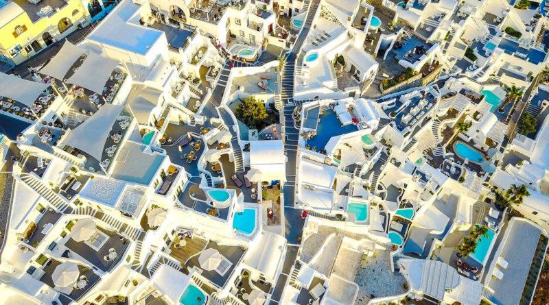 widok z powietrza