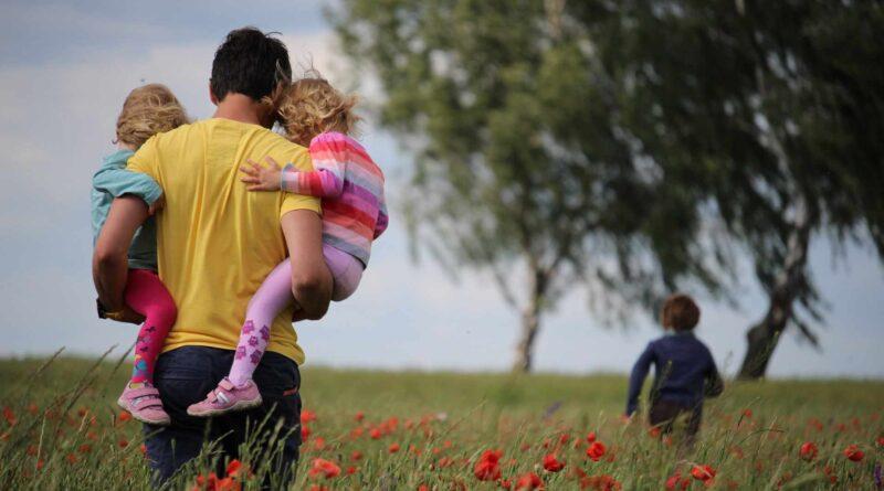 ojciec i dzieci